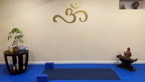 simple yoga scene